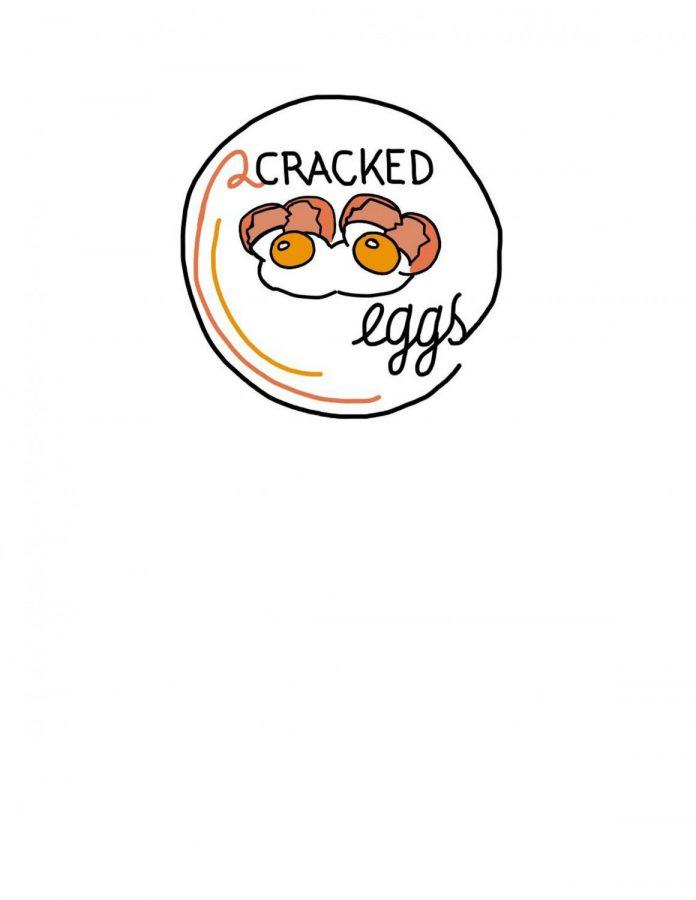 2 Cracked Eggs